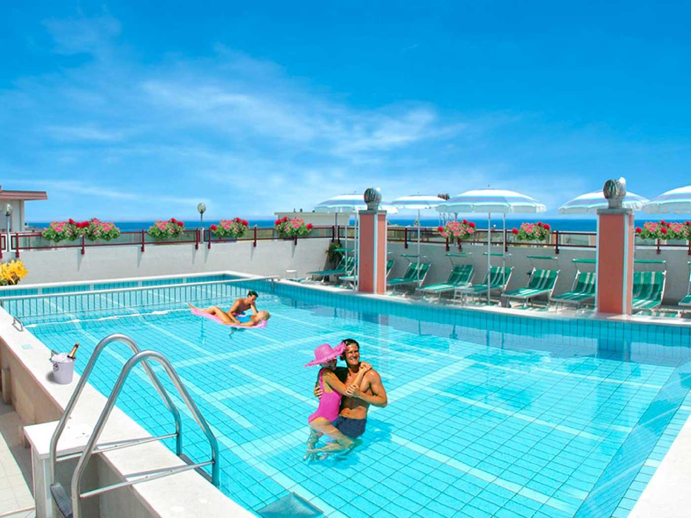 Hotel nelson 3 stelle jesolo lido venezia - Hotel con piscina jesolo ...
